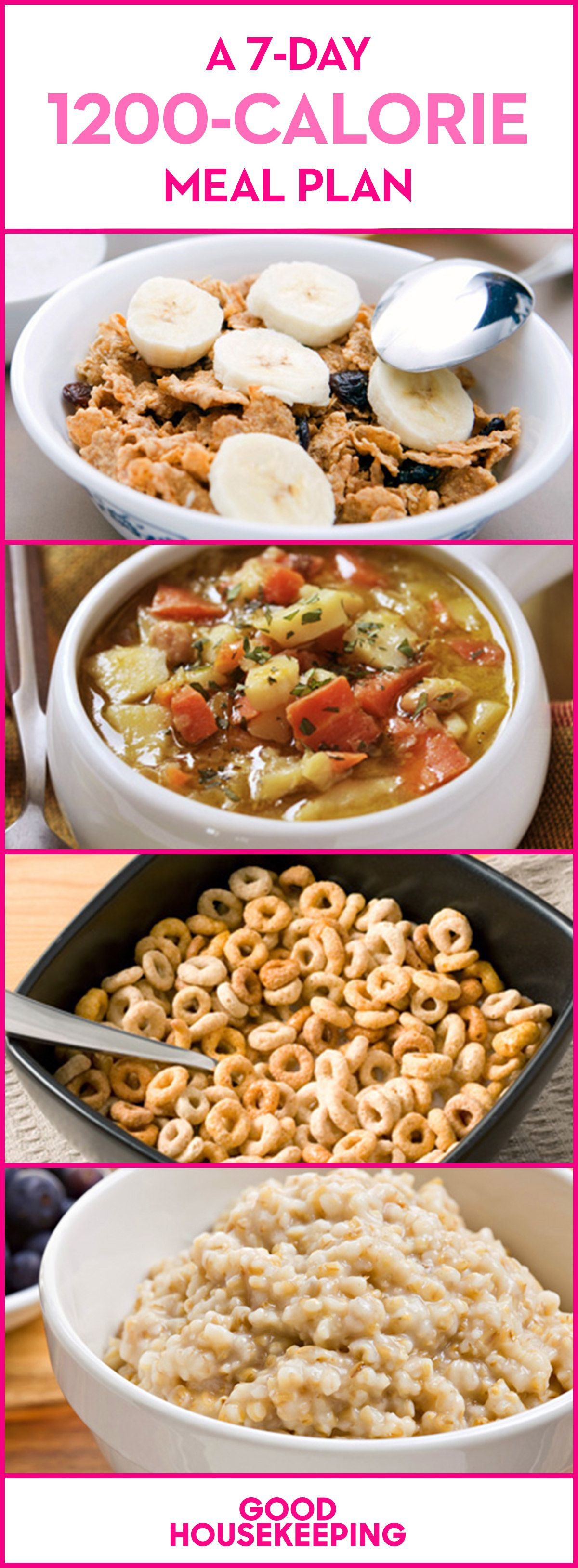 a 7 day 1 200 calorie meal plan pinterest lose 20 pounds fast