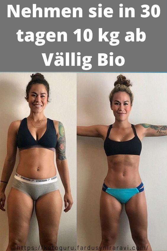 Wie man in 2 Monaten ohne Übungen Gewicht verliert