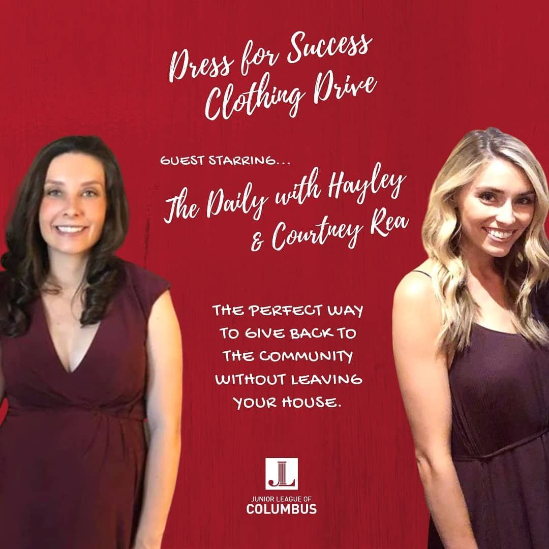 Check Out Our Dress For Success Clothing Drive On Our Instagram Story Guest Starring Our Very Own Daily With Hay In 2020 Successful Clothes Dress For Success Clothes