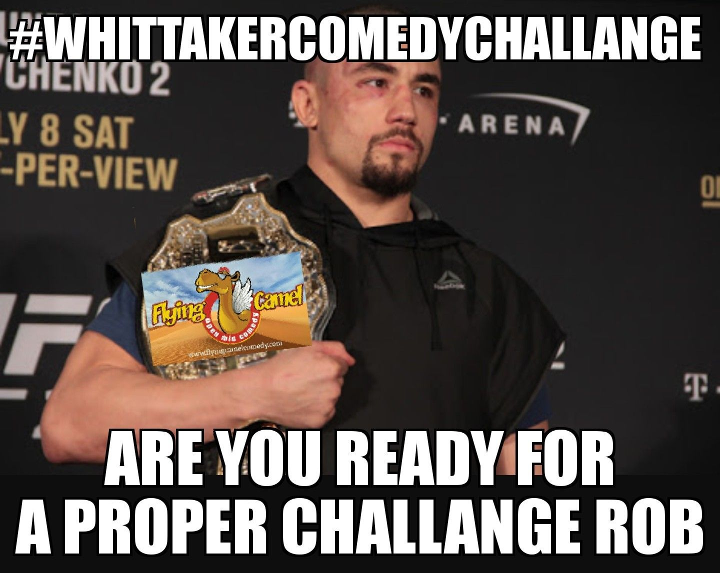 #whittakercomedychallange