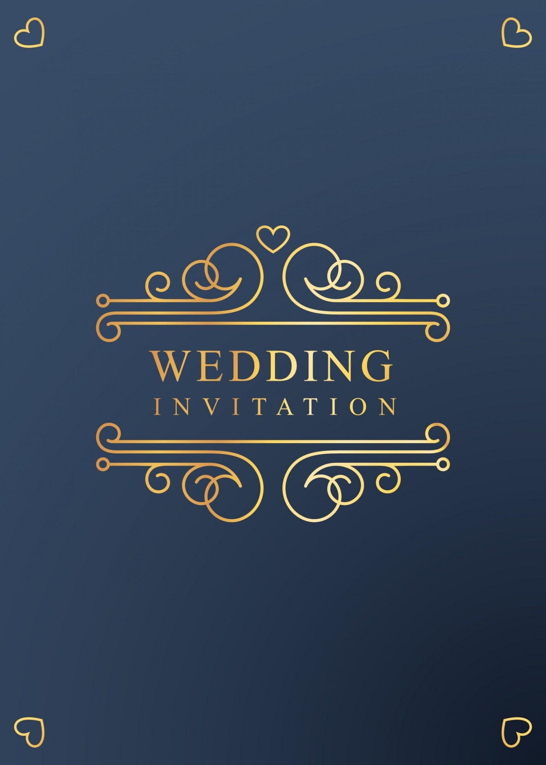 9 Top Image Invitation Cards Design In 2020 Simple Wedding Invitation Card Wedding Invitation Card Design Invitation Card Design