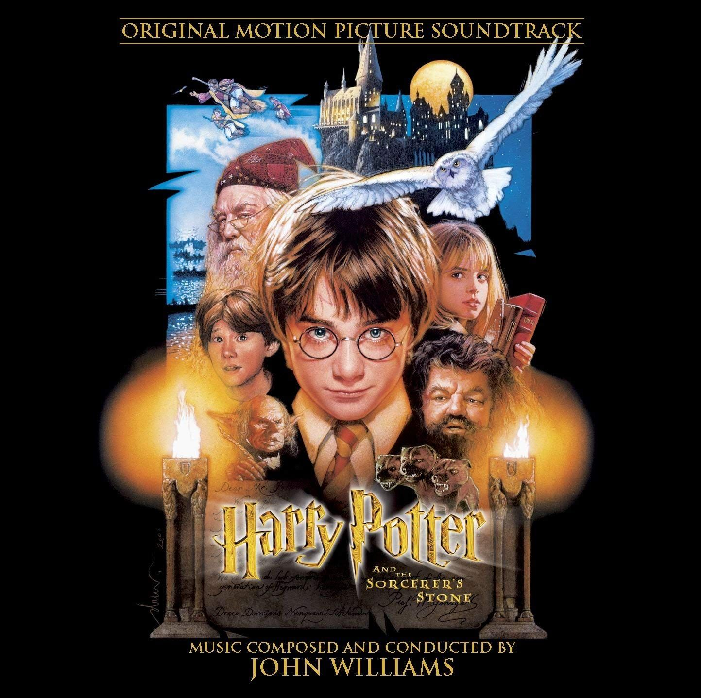 Harry Potter And The Sorcerer S Stone Movie Soundtrack 2001 John Williams Score For This Movie And The Next Two Movies Helped Propel The Harry Potter Film
