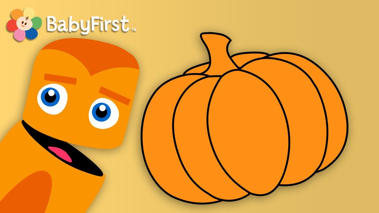 learn colors orange color lesson for kids with color crew by