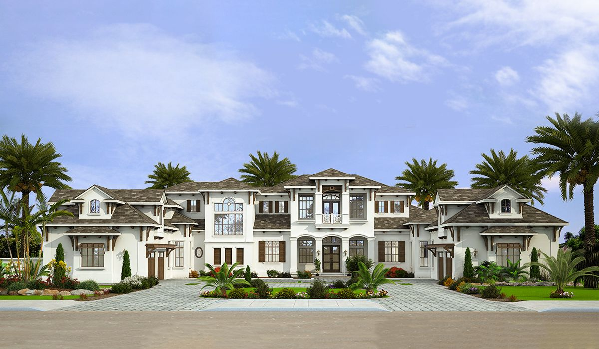 Plan 86067bs Stunning 7 Bed Luxury House Plan Luxury Floor Plans Luxury House Plans Luxury House