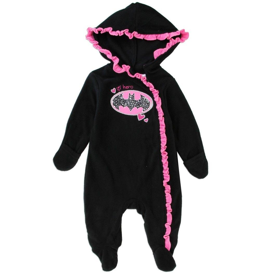 CAN DC Comics Baby Little Boys Batman Fleece Jacket