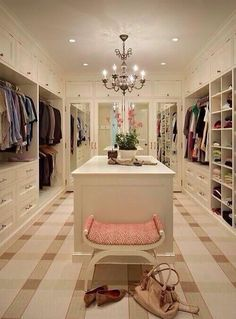 Huge Walk In Wardrobe   Google Search