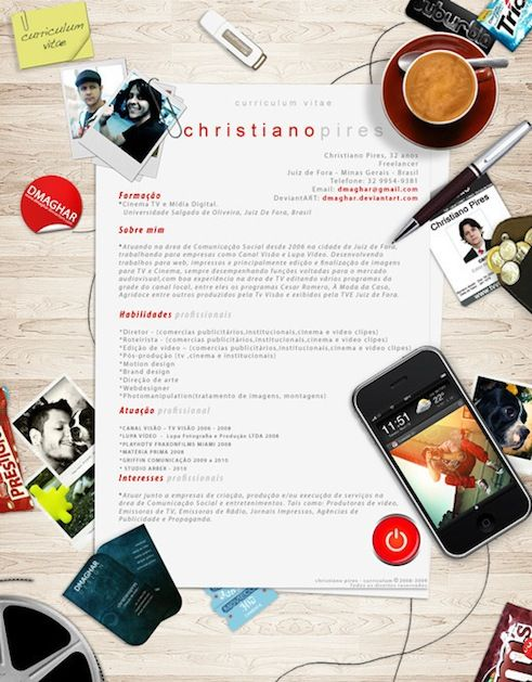 Idee per curriculum vitae creativi | Curriculum Vitae | Pinterest