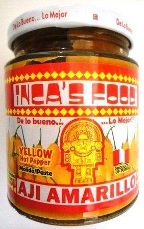 Inca's Food Aji Amarillo Paste - Hot Yellow Pepper Paste, 7.5 Oz Jar - Product of Peru, http://www.amazon.com/dp/B003G52K5E/ref=cm_sw_r_pi_awdm_h05hub1E5RDHS