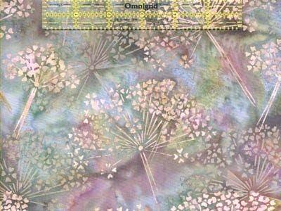 Camellia - Hoffman Bali Batik Handpaints Queen Anne's Lace - Retired and Rare