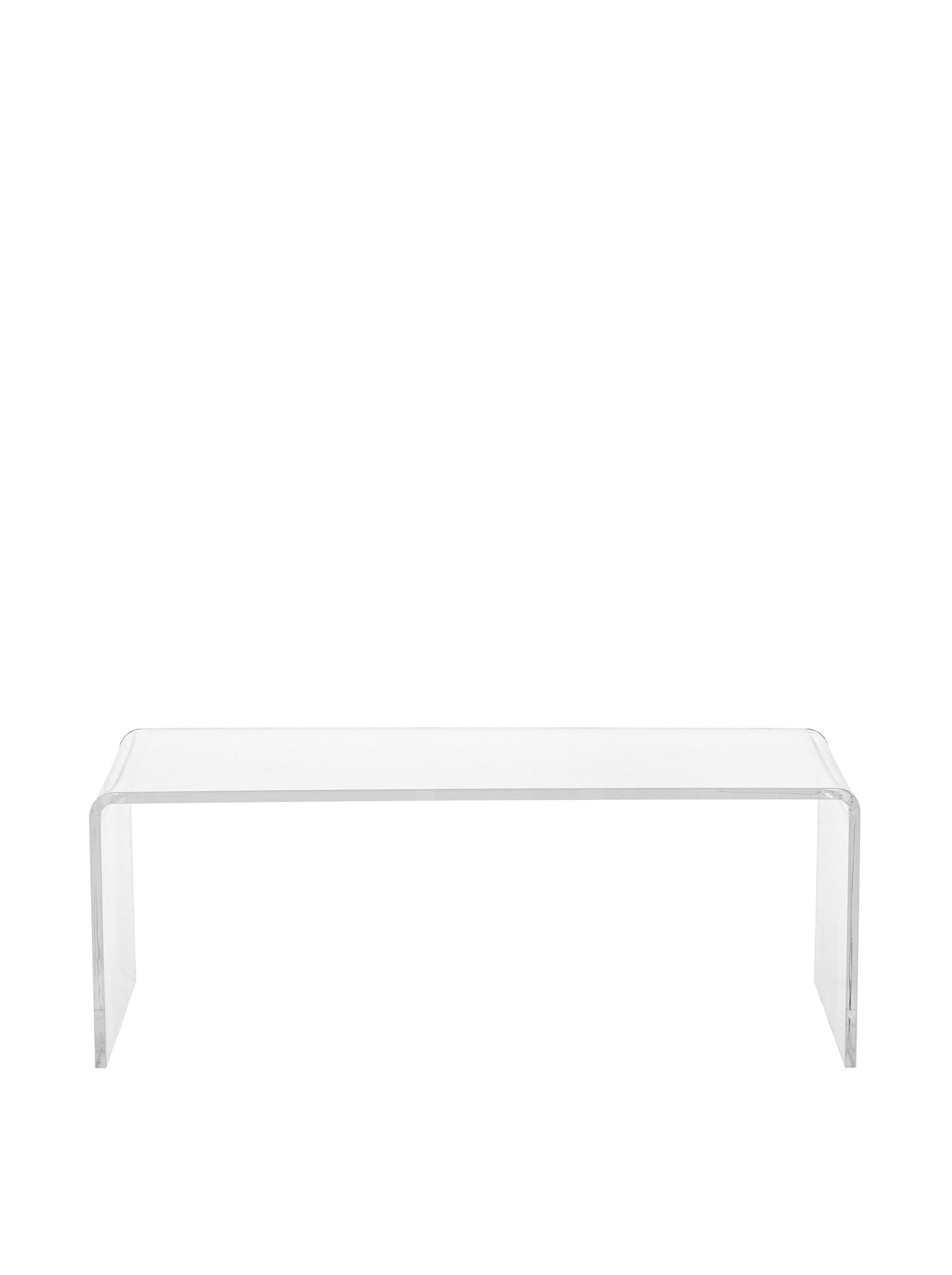 Fox Hill Trading Pure Décor Acrylic Coffee Table, Clear at MYHABIT