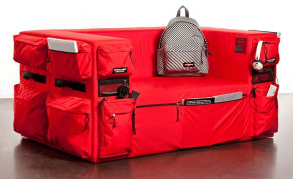 East-Pack the Multifunctional Sofa Bag Design