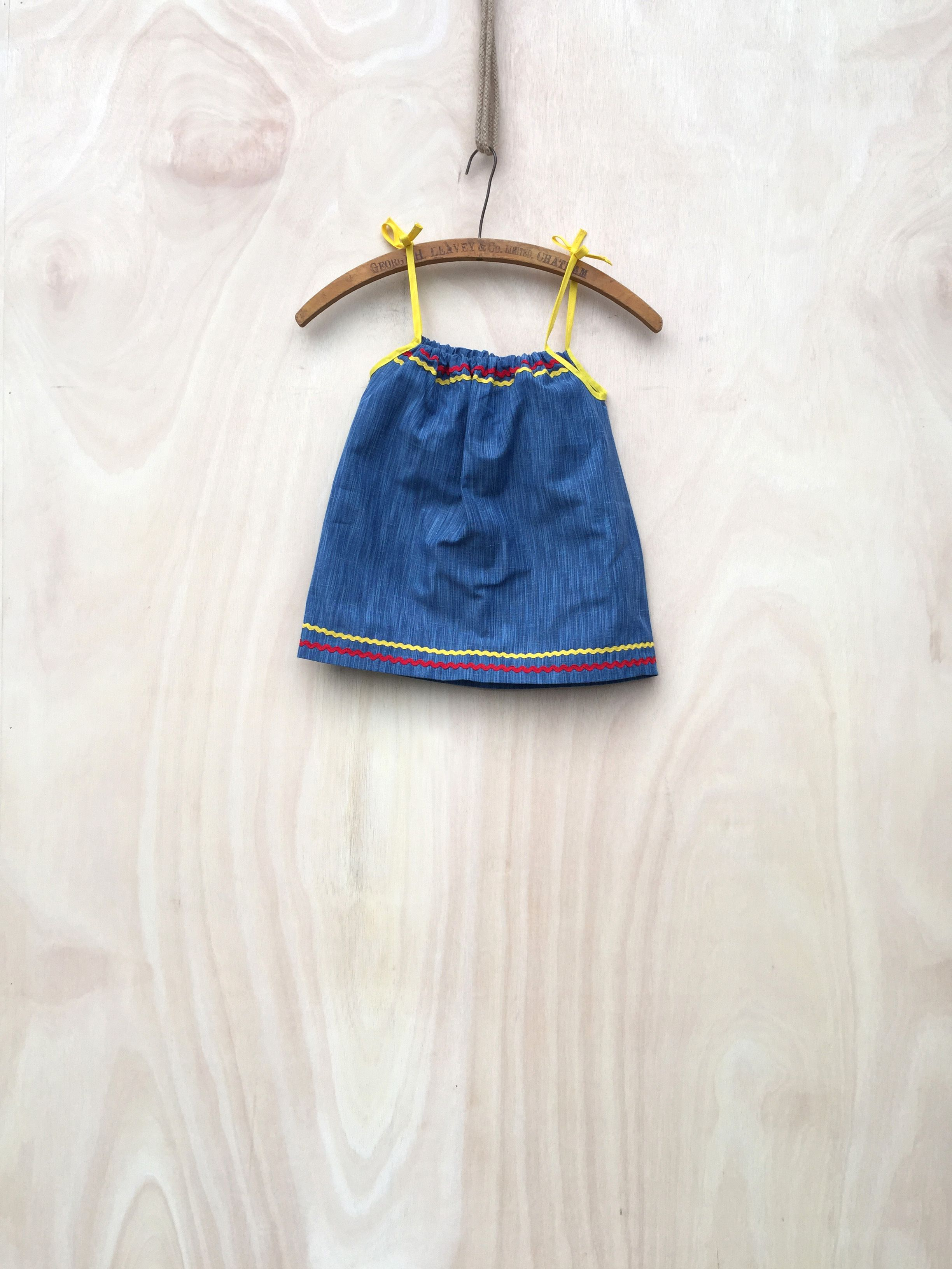 a lovely denim dress sent to us for a little girl in africa learn