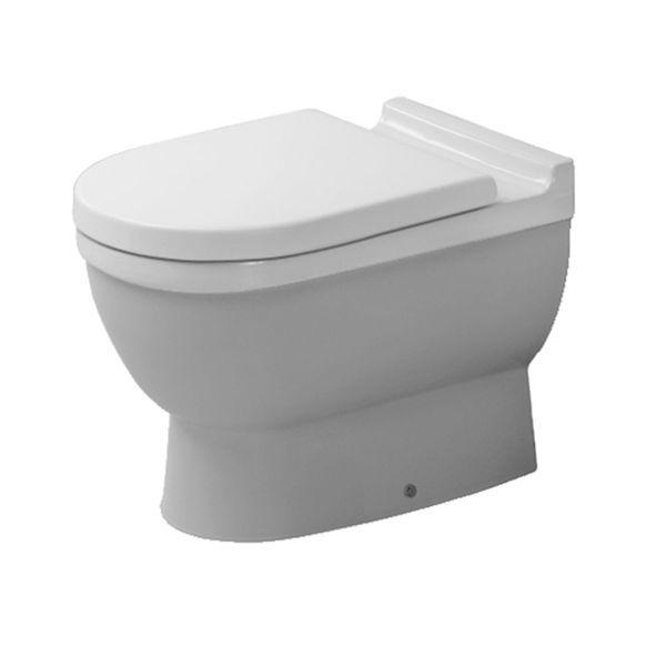 Duravit Starck 3 Back-To-Wall Pan | Duravit, Toilet and Attic