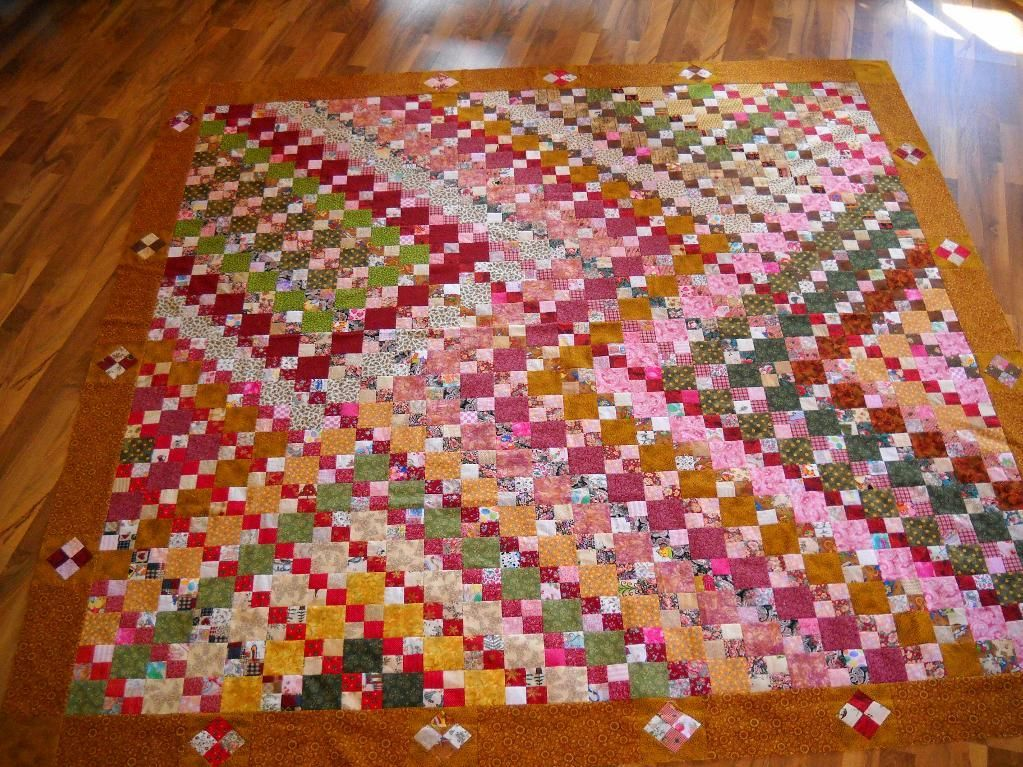 Quilting: My two inch scrap quilt