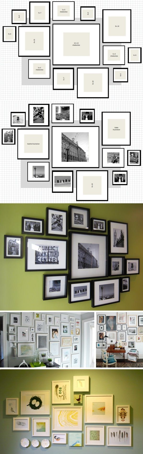 How To Ikea Ribba Frame Gallery Wall 1p 12 X Shadowbox 3p 5 Shadowbo 8 10 Frames