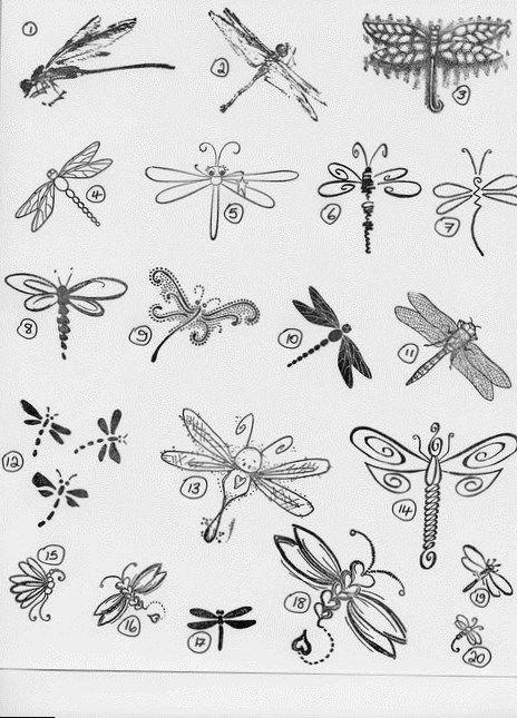 Teeny Tiny Dainty Rings Dragonfly Tattoo Design Small Dragonfly Tattoo Dragonfly Drawing