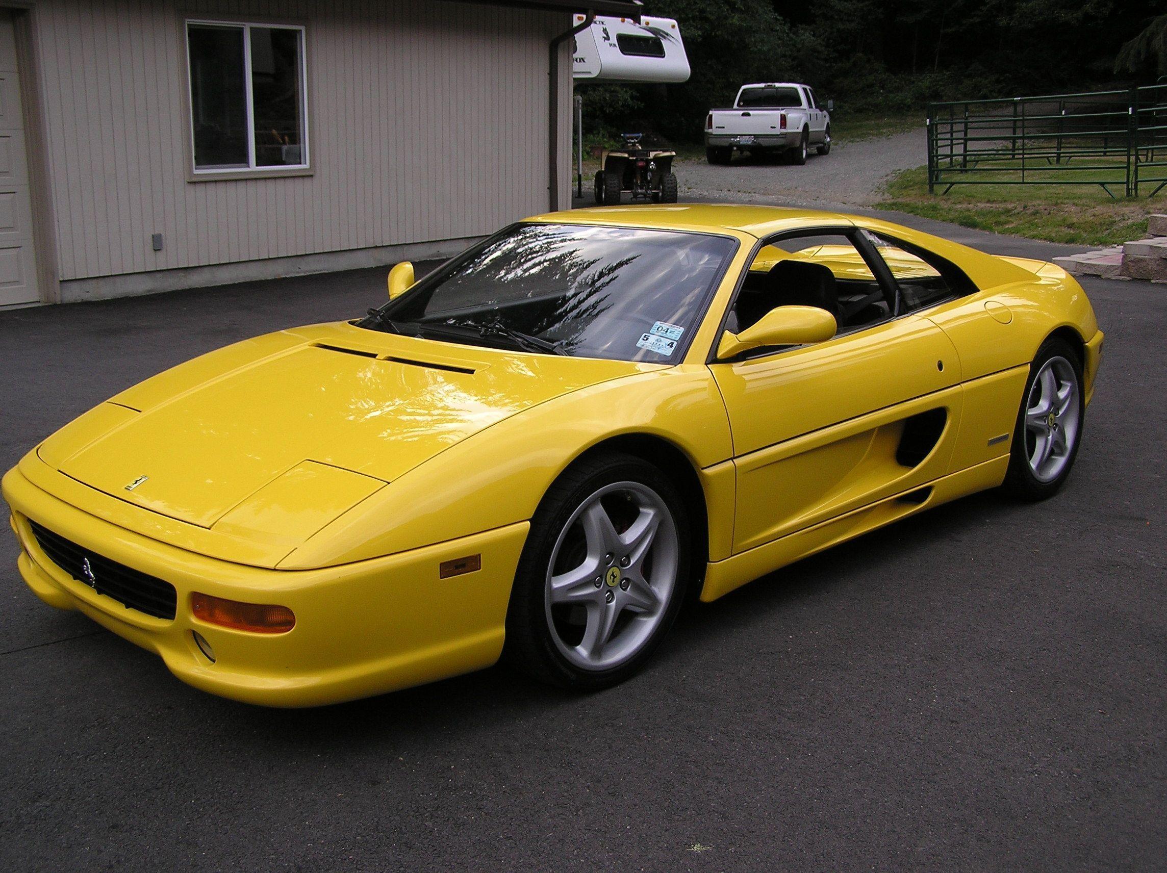 Ferrari F355 Gts F1 Yellow Car Luxurycars Luxury Cars Yellow Car Cars F355 Ferrari Gts Luxury Luxurycars Yellow