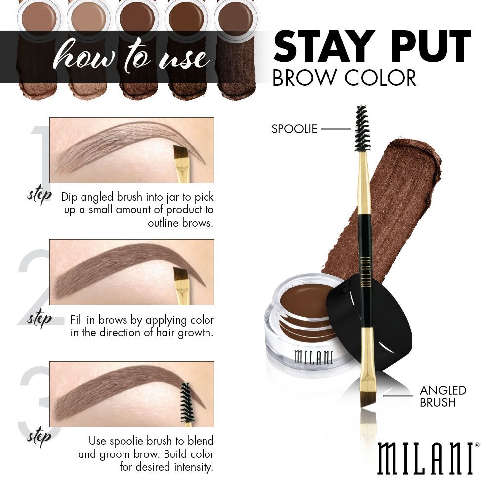 How To Use A Promenade To Fill In Your Brows A Simple And Easy To