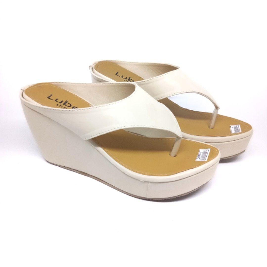 Nd05 Sandal Sepatu Wedges Wanita Preloved Fesyen Wanita Sepatu Di Carousell Sepatu Sandal Wanita