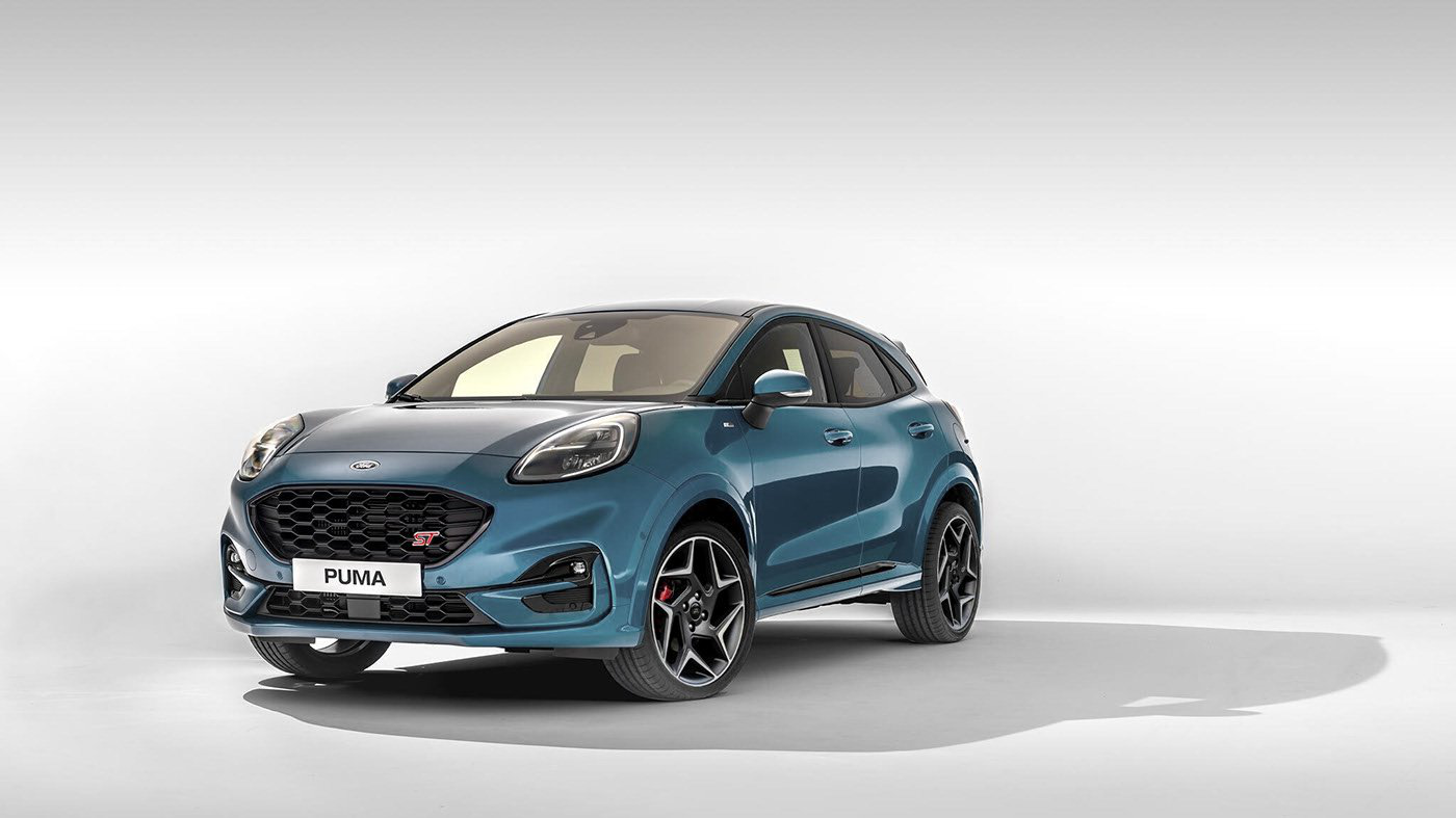 2020 Ford Puma Small Crossover Looks Kinda Cute In St Guise