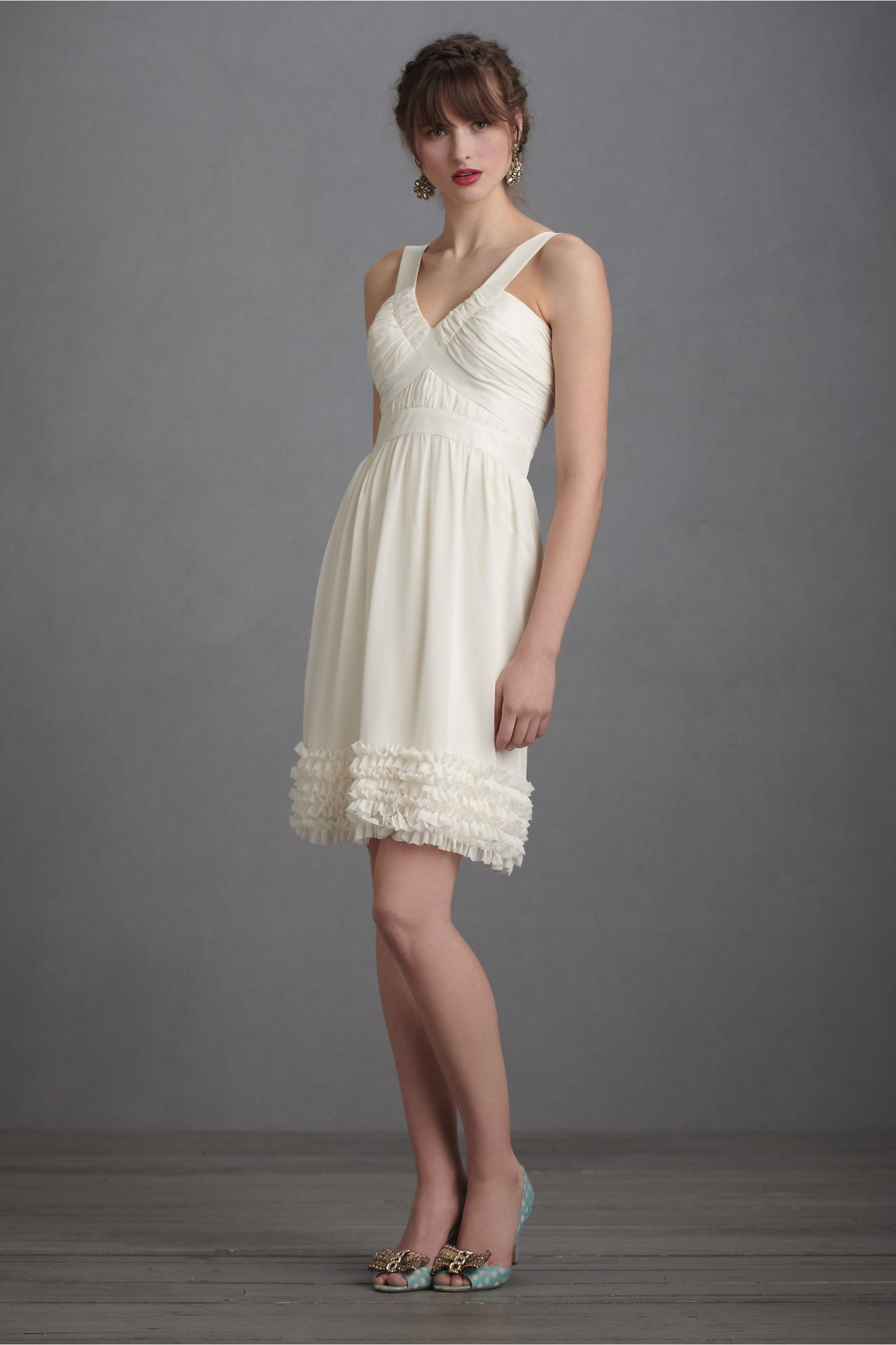 Crème fraiche dress from bhldn wedding pinterest receptions