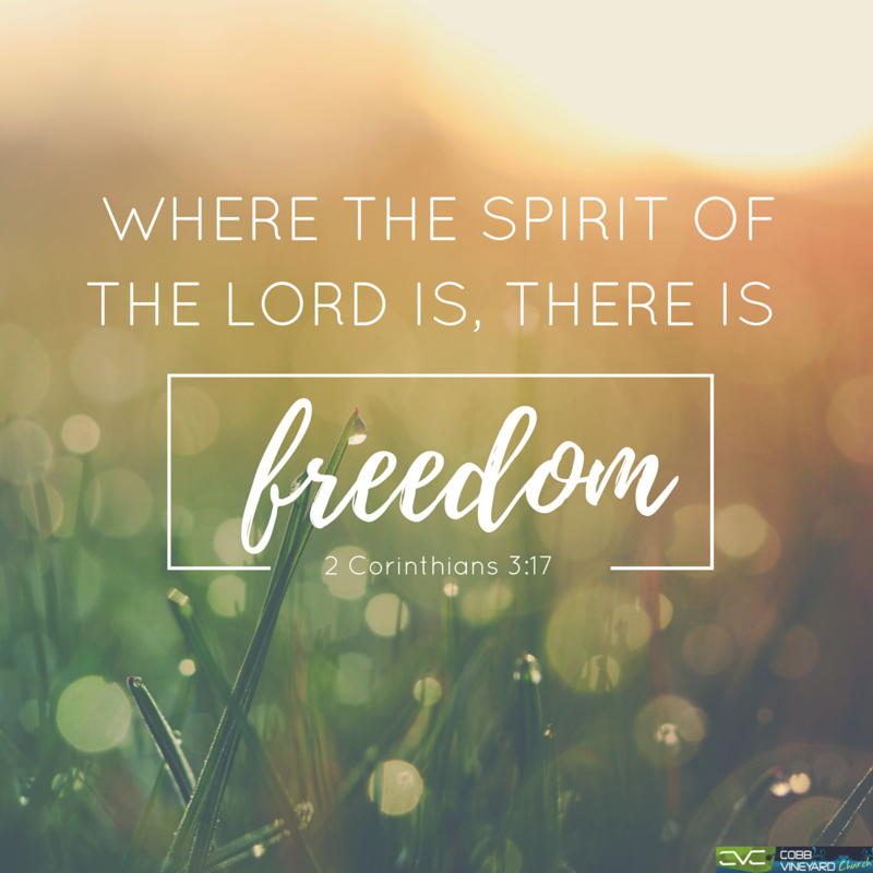 Now The Lord Is The Spirit And Where The Spirit Of The Lord Is There Is Freedom 2 Corinthians 3 17 Verseofthed Freedom Verses Lord Quote Scripture Quotes