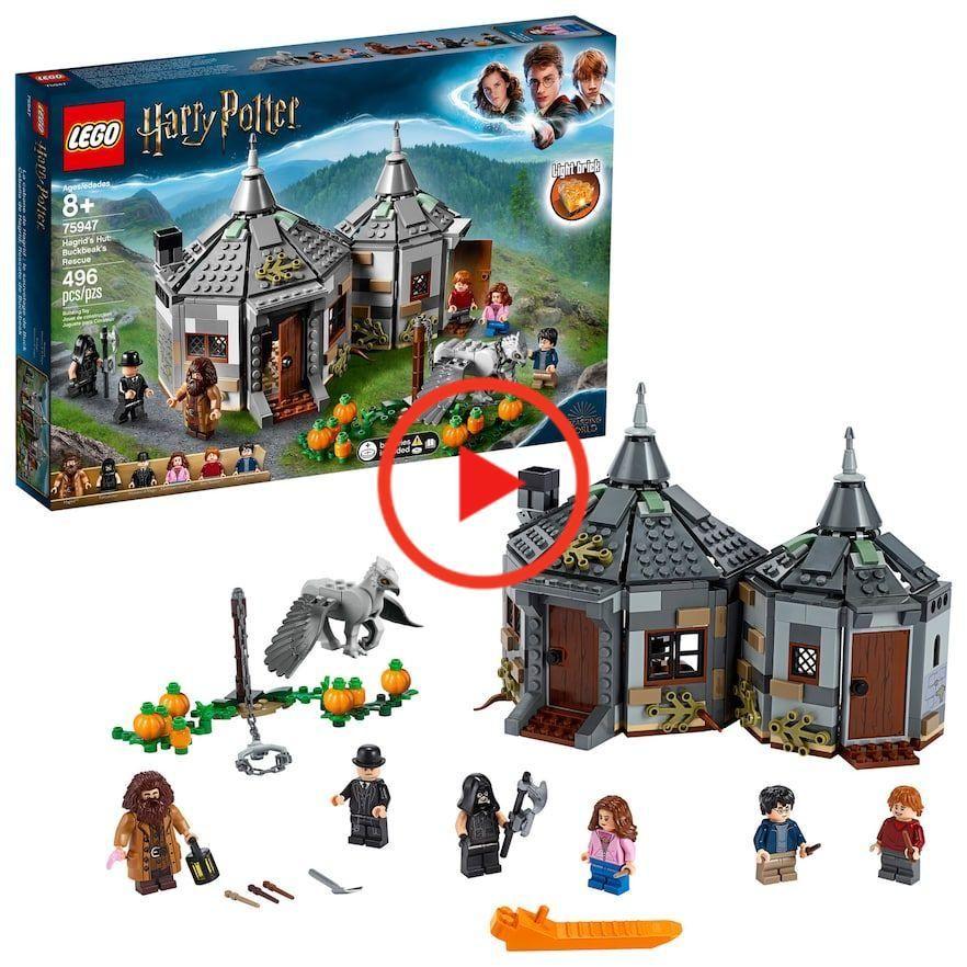 Lego Harry Potter Hagrids Hutte Seidenschnabels Rettung Set 75947 Harry Potter Spielzeuge Lego Harry Potter Lego