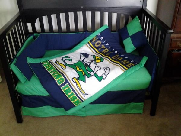 Notre Dame Crib Bedding Set For The Kids Crib