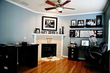 colorful home offices home office design home office on office color scheme ideas id=33270