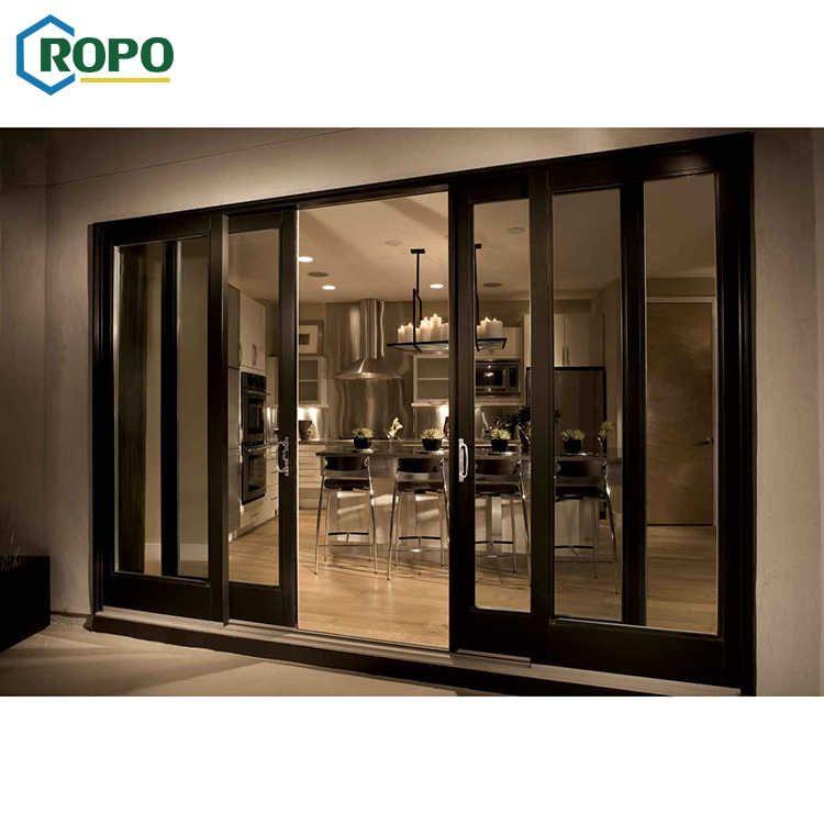Source Agga Patio Glass Double Glaze Aluminum Profile Slide Mesh Door On M Alibaba Com Sliding Wood Doors Door Glass Design Sliding Doors Interior