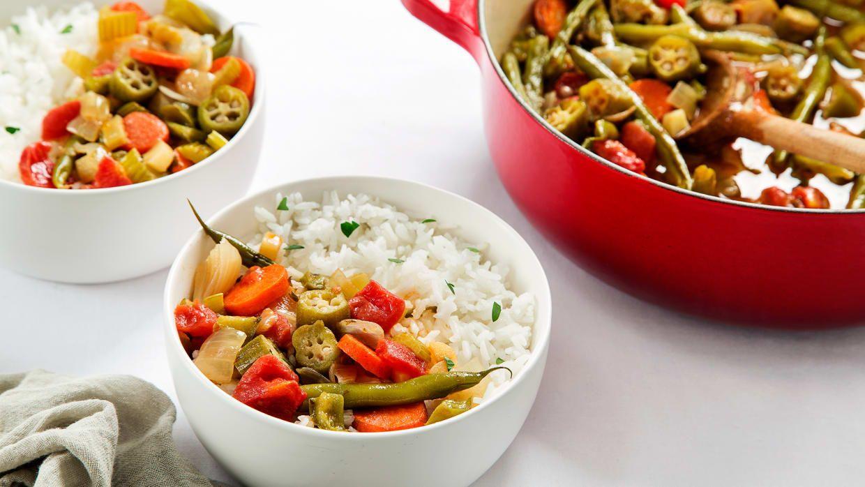Vegetarian Gumbo Recipe Vegetarian gumbo, Vegetarian