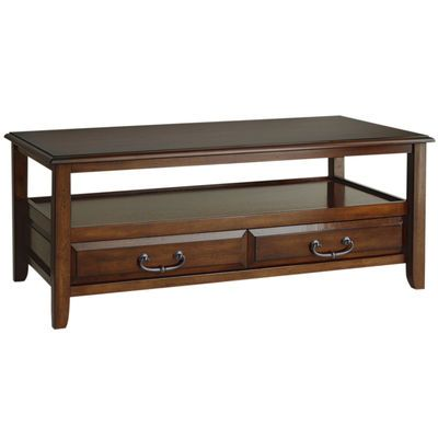 Anywhere Tuscan Brown Coffee Table With Pull Handles Coffee Table Brown Coffee Table Furniture