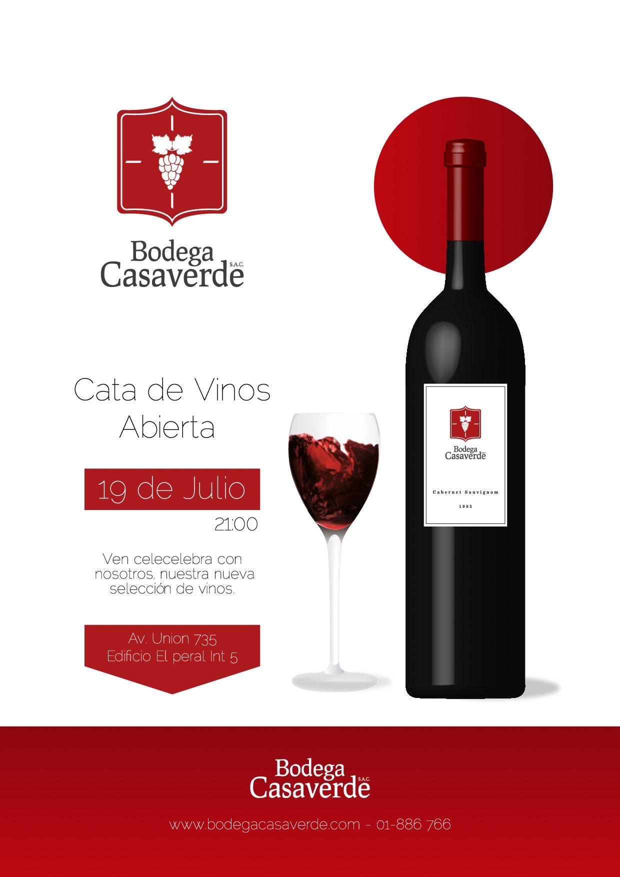 Download Práctica illustrator afiche cata de vinos #edgarcornejo # ...