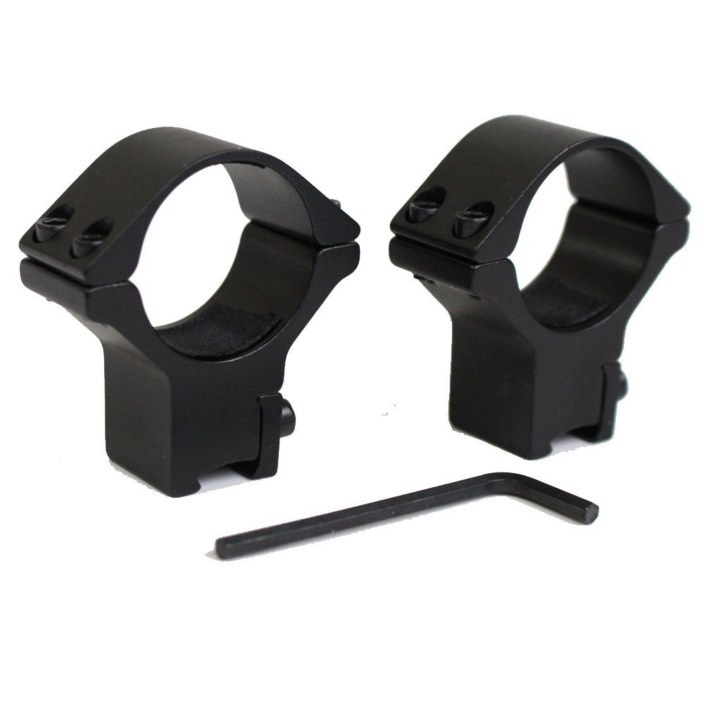 2pcs 30mm Scope Mount Rings Optical Sight Bracket Dovetail 11mm Rail Scope Mounts Low Profile For Outdoor H Scope Mount Outdoor Hunting Favorite Pins