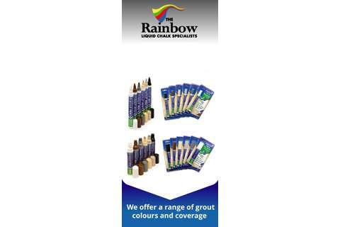 Grout Pens from The Rainbow Liquid Chalk Specialists | Homebuilding & Renovating