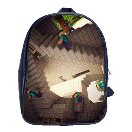 9a1006048c A Herobrine Steve Backpack - M.C. Esher Style!