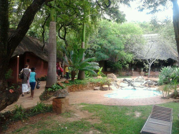 Foyer Entrance Zimbabwe : Chengeta safari lodge harare international