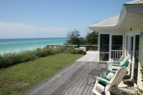 Yellow House Gulf Front Clic In Seagrove Beach Al Picture