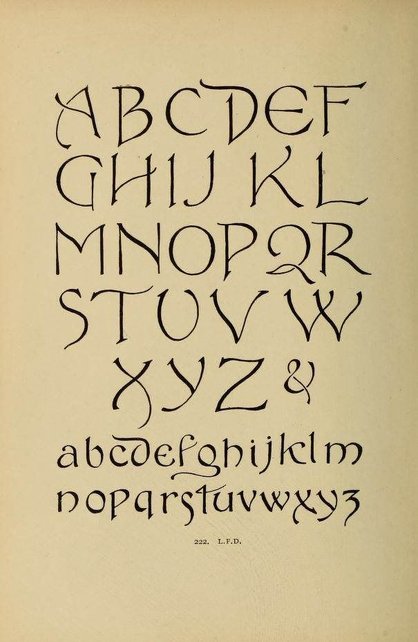 Alphabets Old And New For The Use Of Craftsmen
