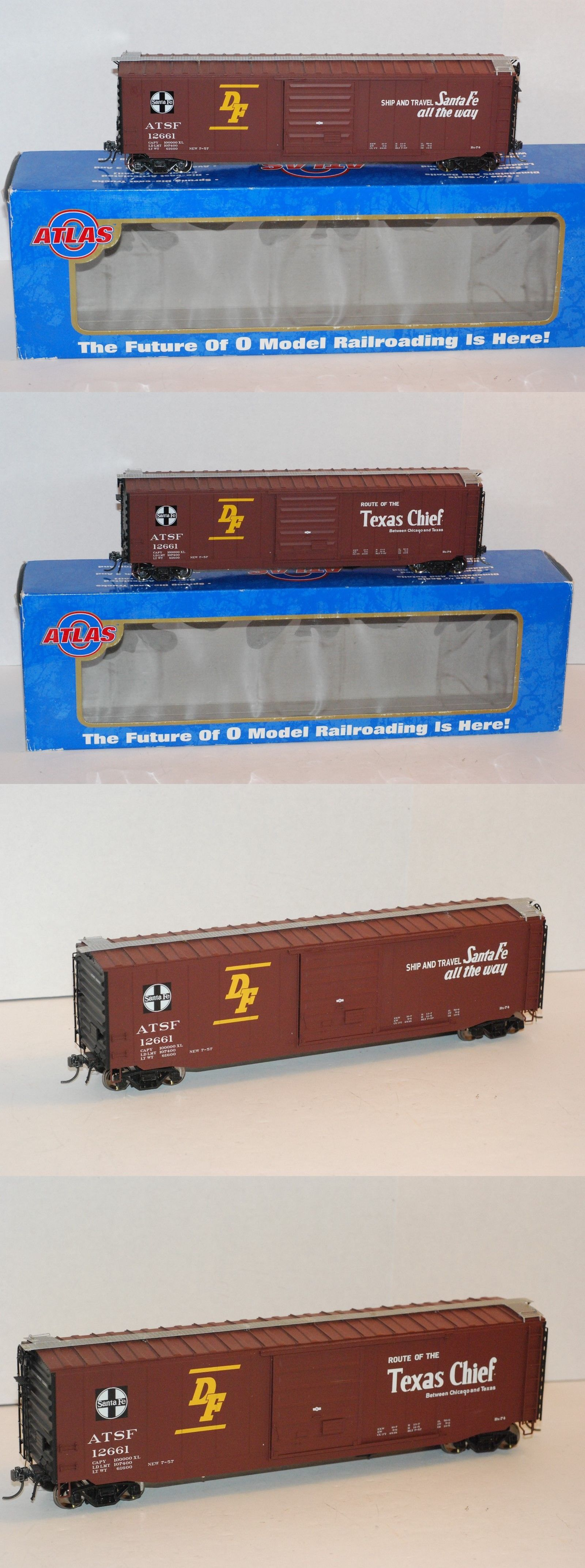 Model Railroads And Trains 180250 Atlas O Scale 2 Rail 7574 3