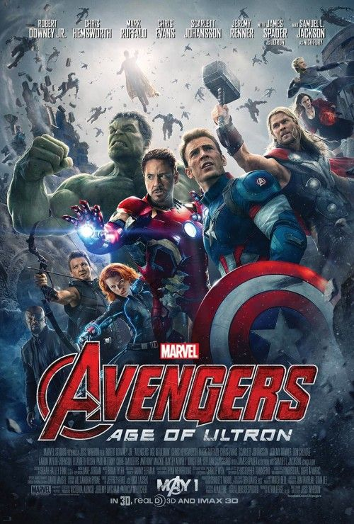 """Marvel Unleashes First Official """"Avengers: Age Of Ultron"""" Team Poster - Comic Book Resources"""