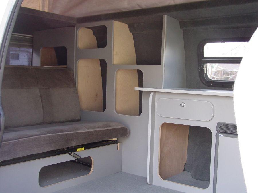 DIY Sportsmobile Style Camper Build