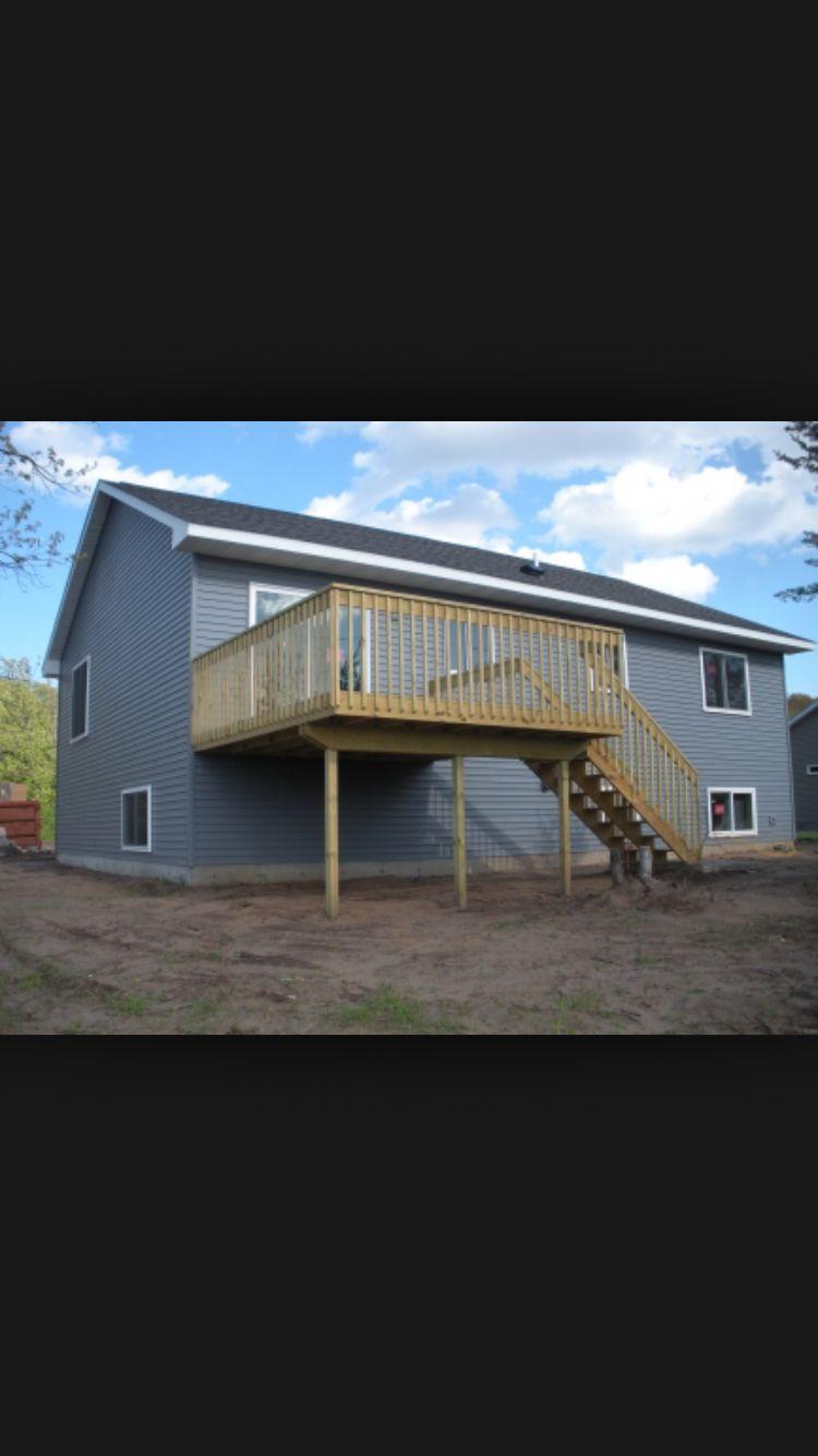 Bi Level Deck Home Design Ideas Pictures Remodel And Decor: Building A Deck, Deck Builders