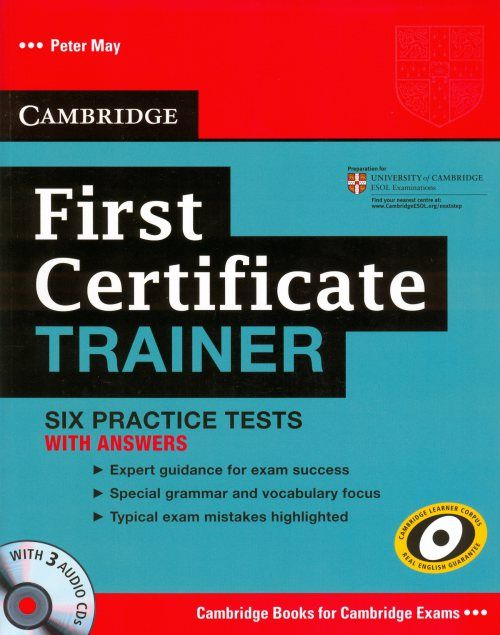 cambridge first trainer  Cambridge First Certificate Trainer | Pinterest | Certificate ...