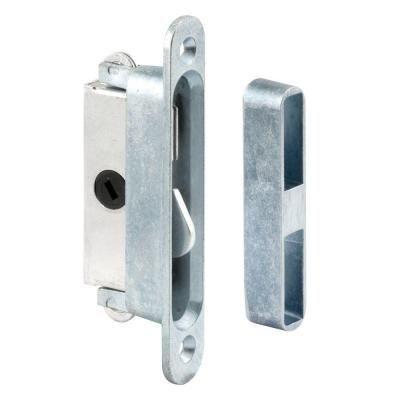 Prime Line Sliding Door Lock And Keeper Set E 2079 The Home Depot Sliding Glass Door Patio Door Locks Sliding Patio Doors