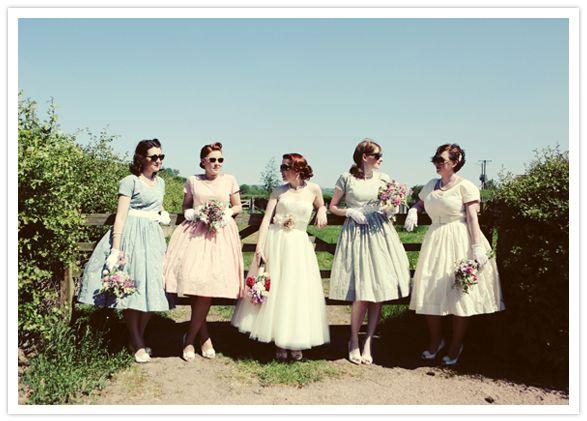 Inspirations Tara Starlet Vintage Bridesmaid Dresses Inspired Picnic Wedding Sophie And Gareth