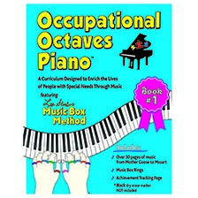 Applied Behavior Analysis  Occupational Octaves Piano Book