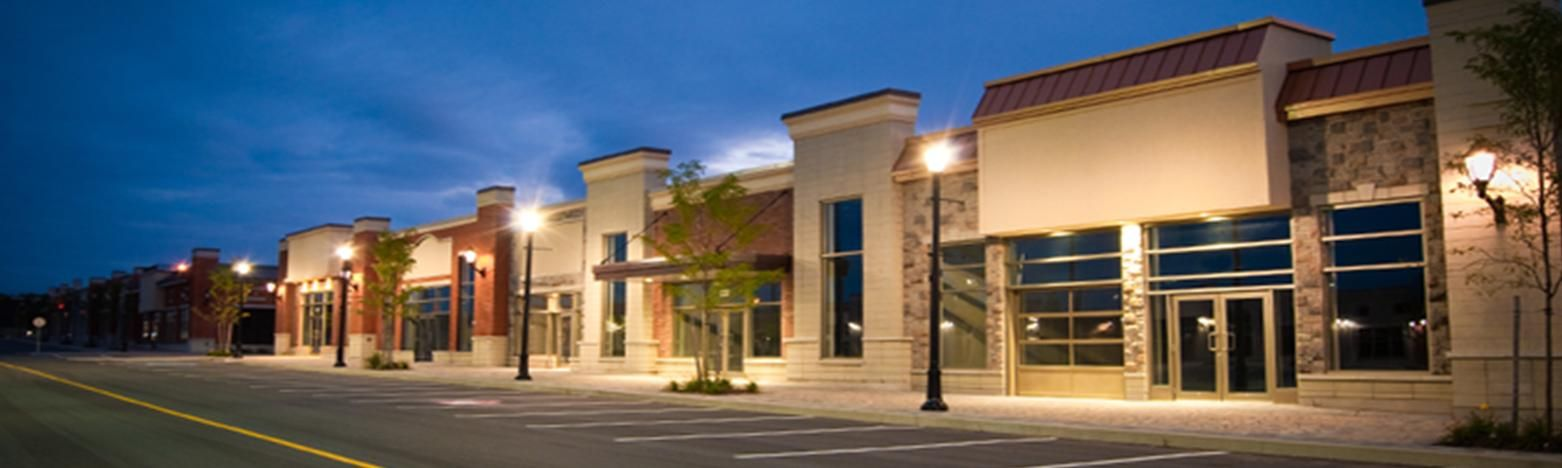 Strip mall renovation strip mall contractor plaza for Modern building construction