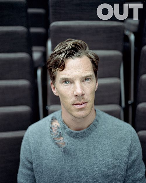 Out Magazine -Benedict Cumberbatch