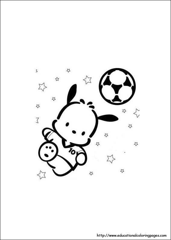 Pochacco (With images)   Animal coloring pages, Zoo animal coloring pages, Zoo animals